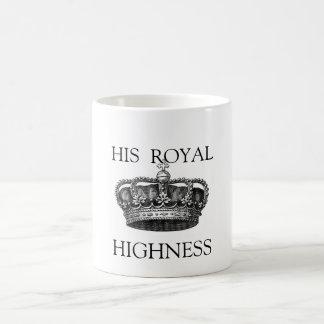 His Royal Highness Tea mug
