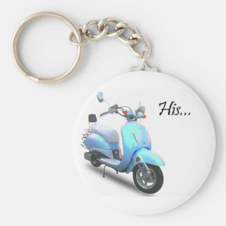 His Scooter Key Ring