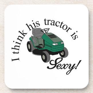 His Tractors Sexy Coasters