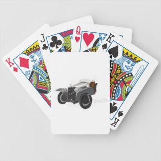 Hispano Suiza Closeup Bicycle Playing Cards