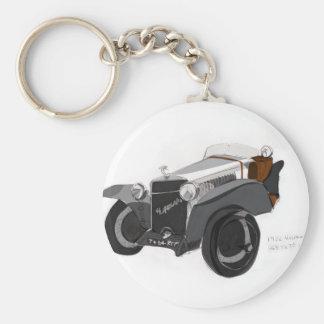 Hispano Suiza Closeup Key Ring