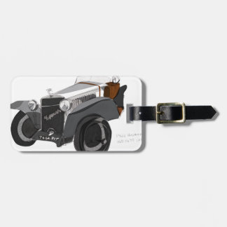 Hispano Suiza Closeup Luggage Tag