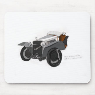 Hispano Suiza Closeup Mouse Pad