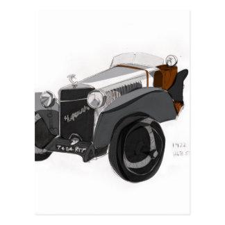 Hispano Suiza Closeup Postcard