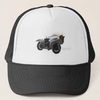 Hispano Suiza Closeup Trucker Hat