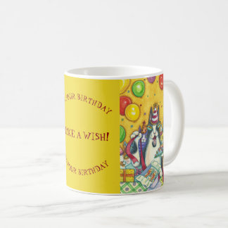 Hiss N' Fitz Cats BIRTHDAY MUG *Customize Text