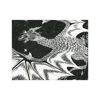 Hissing Dragon Canvas Print