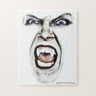 Hissing Vampire Jigsaw Puzzle