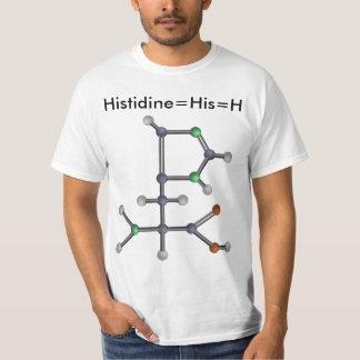 Histidine (amino acid) T-Shirt