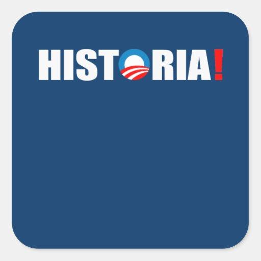 HISTORIA STICKERS