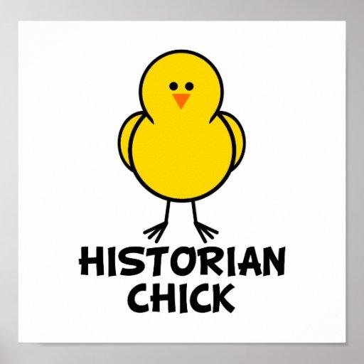Historian Chick Print