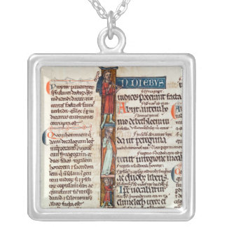 Historiated initial 'I' depicting Ruth Necklaces