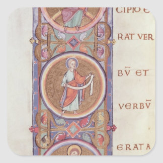 Historiated initial 'I' Stickers