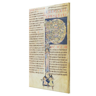 Historiated initial 'P' Canvas Prints