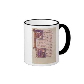 Historiated initials 'P' Coffee Mug