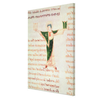Historiated letter 'T' Gallery Wrap Canvas