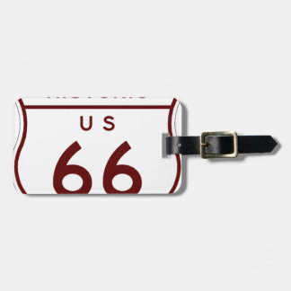 historic66 luggage tag