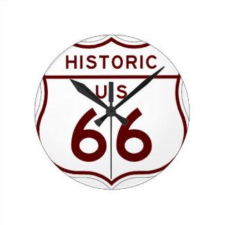 historic66 round clock