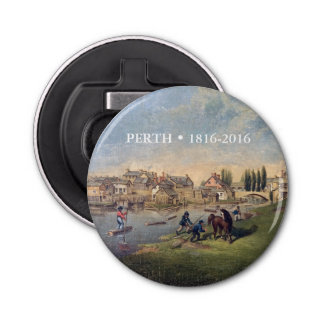 Historic 1853 Painting Perth Ontario Bottle Opener