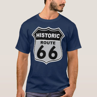 Historic 66 Mens Dark T-Shirt