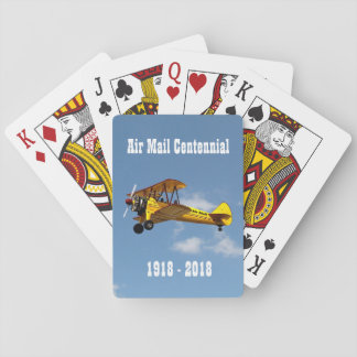 Historic Air Mail Service Centennial Playing Cards