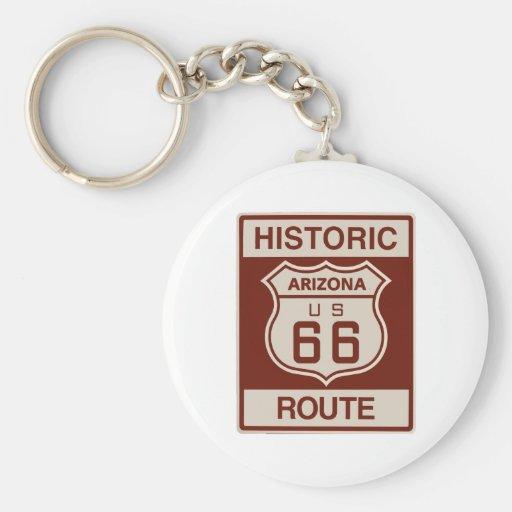 Historic Arizona RT 66 Key Chain