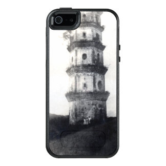 Historic Asian tower building OtterBox iPhone 5/5s/SE Case