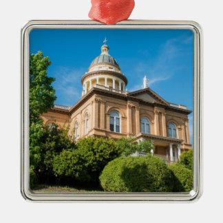 Historic Auburn California Courthouse Metal Ornament