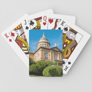 Historic Auburn California Courthouse Playing Cards
