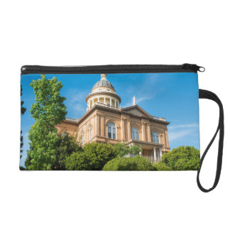 Historic Auburn California Courthouse Wristlet