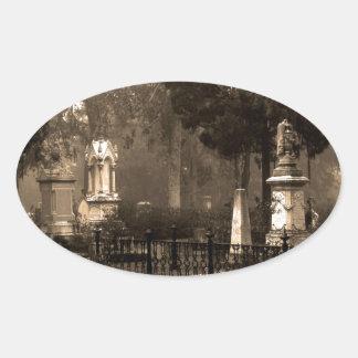 Historic Bonaventure Cemetery Oval Sticker