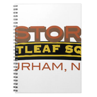 Historic Brightleaf Square Spiral Notebook