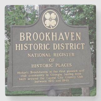 Historic Brookhaven, Atlanta Marble Coasters