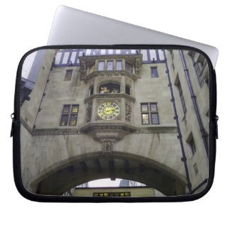 Historic Building Neoprene Laptop Sleeve 10 inch
