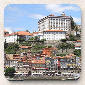 Historic buildings and river, Porto, Portugal Coaster