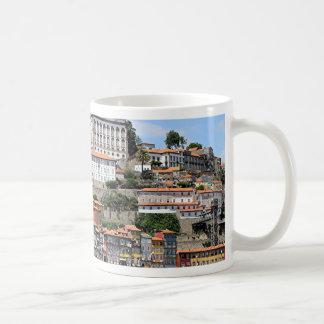 Historic buildings and river, Porto, Portugal Coffee Mug