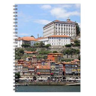 Historic buildings and river, Porto, Portugal Notebooks