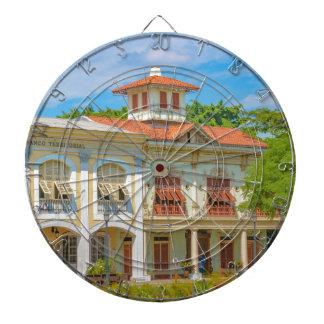 Historic Buildings, Guayaquil, Ecuador Dartboard