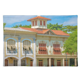 Historic Buildings, Guayaquil, Ecuador Placemat
