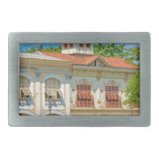 Historic Buildings, Guayaquil, Ecuador Rectangular Belt Buckle