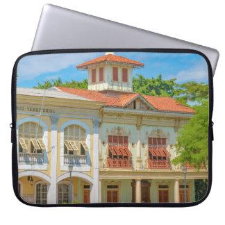 Historic Buildings, Parque Historico, Guayaquil Laptop Sleeve