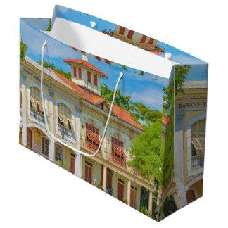 Historic Buildings, Parque Historico, Guayaquil Large Gift Bag