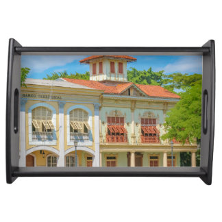 Historic Buildings, Parque Historico, Guayaquil Serving Tray