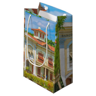 Historic Buildings, Parque Historico, Guayaquil Small Gift Bag