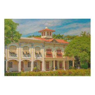 Historic Buildings, Parque Historico, Guayaquil Wood Print