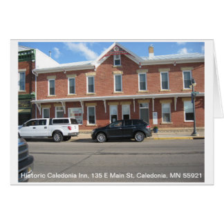 Historic Caledonia Inn Card