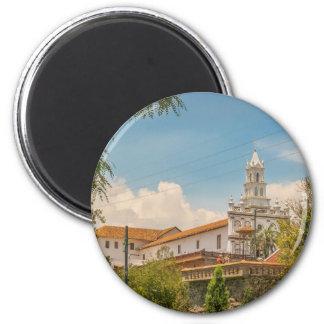 Historic Center of Cuenca, Ecuador 6 Cm Round Magnet