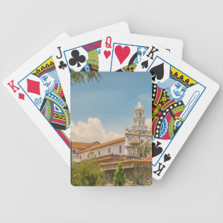 Historic Center of Cuenca, Ecuador Bicycle Playing Cards