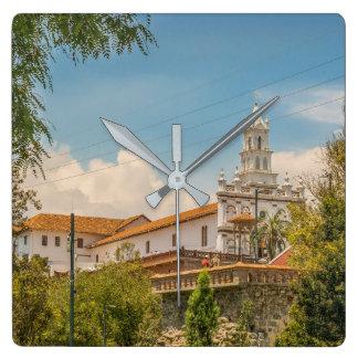 Historic Center of Cuenca, Ecuador Clocks
