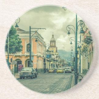 Historic Center Urban Scene at Riobamba City Coaster
